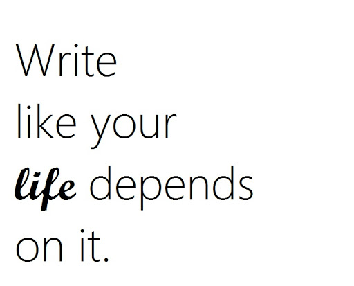 Writing isn't just a hobby!