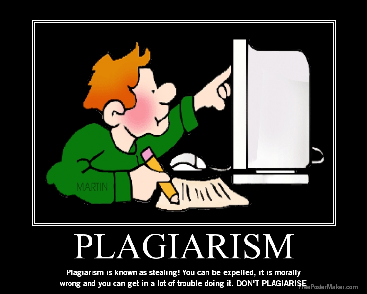 Who do people plagiarize