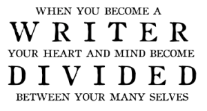 When you become a writer
