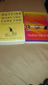 Books I ordered
