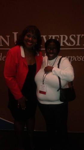 Me and Dr. Yvonne Thornton